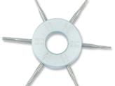 Lens hole gauge